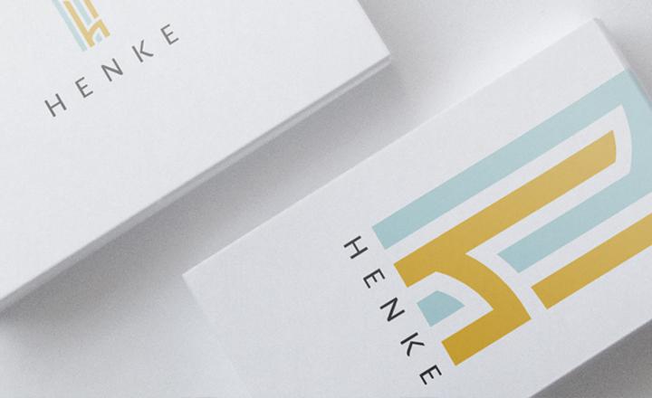 Huisstijl en logo ontwerp van Studio Henke