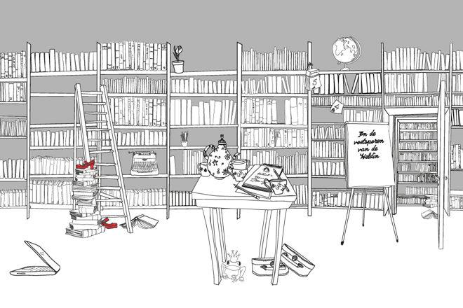 Illustratie boeken voor Edith de Wit