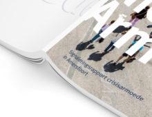 Grafisch ontwerp brochure Zicht op Nieuwe Armoede