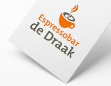 Logo espressobar De Draak