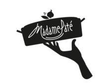 Huisstijl, logo en label ontwerp Madame Paté