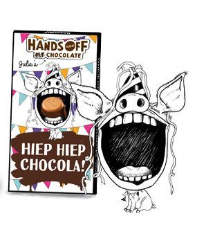 Illustratie voor Hands off my Chocolate